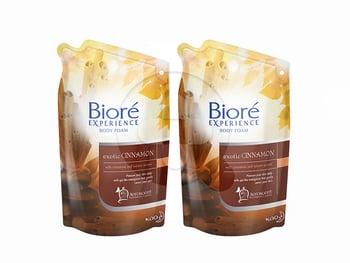 BIORE Body Foam Exotic Cinnamon 425 mL Twinpack harga terbaik 61000