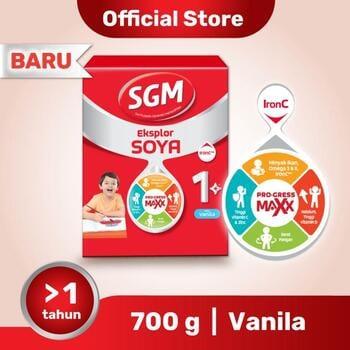 SGM Eksplor SOYA Susu Pertumbuhan 1-5 Tahun Vanila 700 g harga terbaik