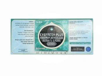 Cendo Eyefresh Plus tetes mata adalah obat yang digunakan untuk mengatasi iritasi pada mata