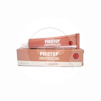 Pirotop krim digunakan untuk pengobatan topikal lesi kulit traumatik infeksi sekunder dan luka terinfeksi