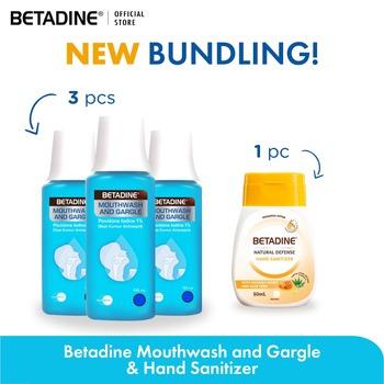 BETADINE Mouthwash and Gargle 100 mL  harga terbaik 122500