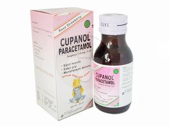 Cupanol Suspensi 120 mg/ 5mL - 60 mL harga terbaik 25020
