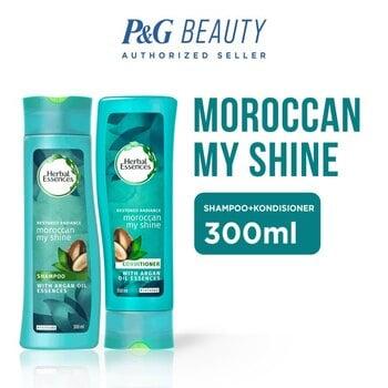 Herbal Essences Moroccan My Shine - Shampoo + Conditioner 300 ml harga terbaik 69800