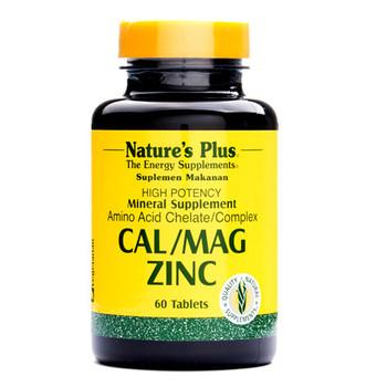 Nature's Plus Cal/Mag/Zinc Tablet  harga terbaik 240000