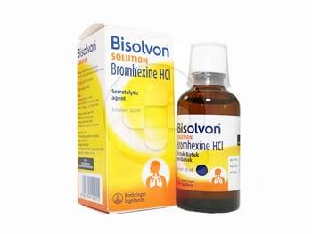 Bisolvon solution adalah obat untuk membantu mengobati batuk berdahak