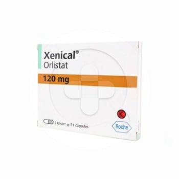 Xenical digunakan untuk terapi obesitas pada pasien dengan Index Massa Tubuh >= 30 kg/m2