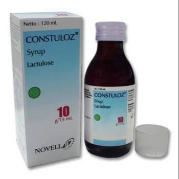 Constulos sirup adalah obat untuk mengatasi kesulitan buang air besar (konstipasi kronis)