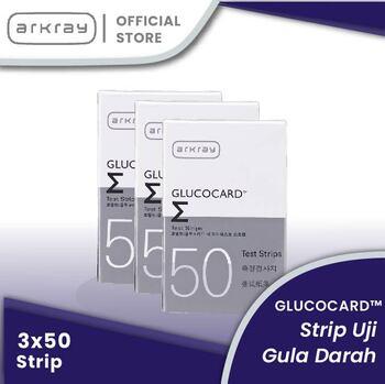 Glucocard Sigma Test Strips INT-general  harga terbaik 699000
