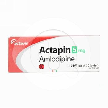 Actapin tablet adalah obat untuk mengatasi tekanan darah tinggi dan nyeri dada