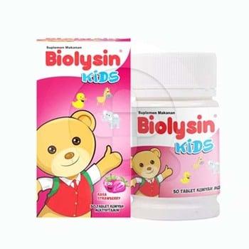 Biolysin kids adalah suplemen untuk memelihara kesehatan tubuh anak-anak
