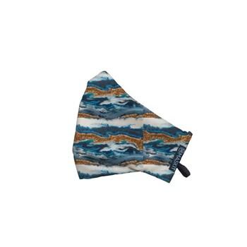 Maskit Masker Limited Edition - Dewasa Standar - Blue Gold Wave  harga terbaik