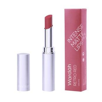 Wardah Intense Matte Lipstick 08 - Retro Red  2,3 g