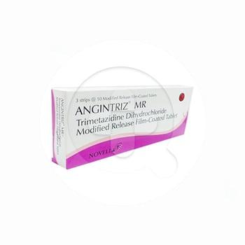Angintriz MR tablet adalah obat untuk mengatasi nyeri dada atau angina pektoris