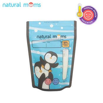 Natural Moms Kantong ASI 120 ml - Thermal Sensor - Snow  harga terbaik 47000