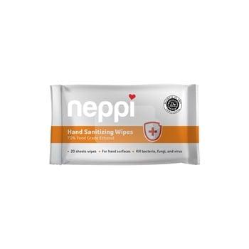 Neppi Hand Sanitizing Wipes - 20s harga terbaik 20000