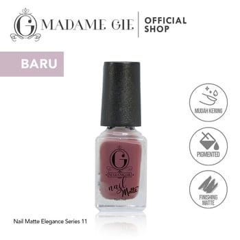 Madame Gie Nail Matte 11 Lady Like harga terbaik 7200