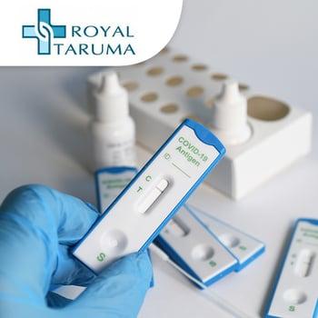 Rapid Swab Antigen Test COVID-19 di Rs Royal Taruma,Jakarta Barat