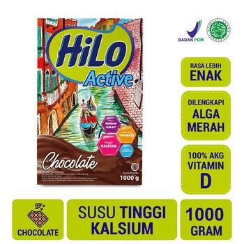 HiLo Active Chocolate 1000 g harga terbaik 159500