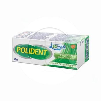 Polident Denture Adhesive Cream Freshmint 20 g harga terbaik