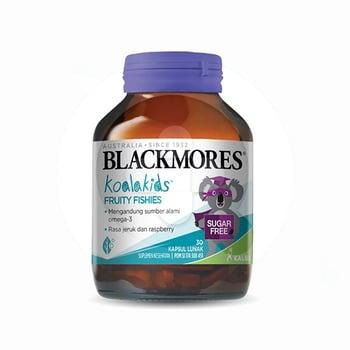 Blackmores Kids Fruity Fishies digunakan untuk membantu memelihara kesehatan anak