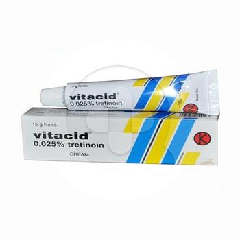 Vitacid Krim 0.025% - 15 g harga terbaik