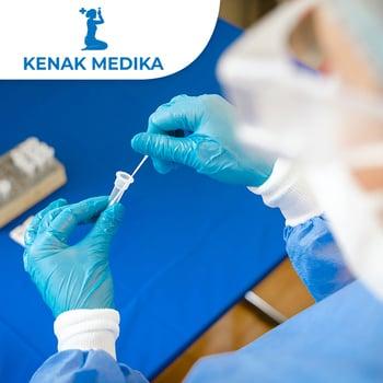 Swab PCR Test COVID-19 (Hasil 1x24 jam) di Klinik Kenak Medika, Bali