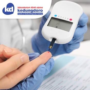 Paket Medical Check Up Diabet Sehat di Laboratorium Klinik Utama Kedungdoro, Dharmahusada, Kedungsari