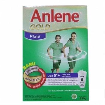 Anlene Gold Rasa Plain 250 g harga terbaik