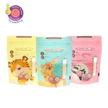 Natural Moms Kantong ASI 120 ml - Thermal Sensor - Jungle Edition harga terbaik