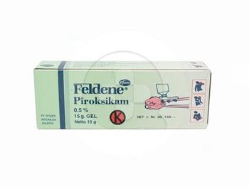 Feldene gel adalah obat yang digunakan untuk rasa nyeri akibat keseleo atau terkilir