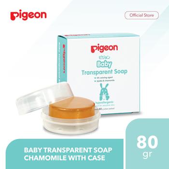 Pigeon Baby Transparent Soap Chamomile 80 g Case harga terbaik 40000
