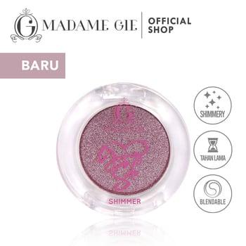 Madame Gie Going Solo Shimmery Pressed Eyeshadow 06 - Wave harga terbaik 16000