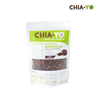 Chia-Yo Homemade Granola Dark Chocolate 250 g harga terbaik 55000