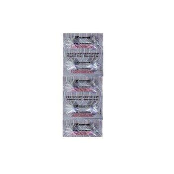 Vertizine tablet adalah obat untuk mengatasi vertigo serta mencegah dan mengatasi mual dan muntah.