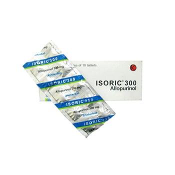 Isoric Tablet adalah obat untuk peningkatan kadar asam urat dalam darah.