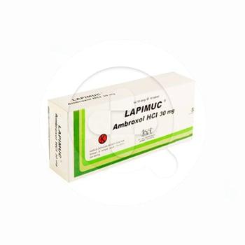 Lapimuc tablet adalah obat untuk mengencerkan dahak (sekretolitik).