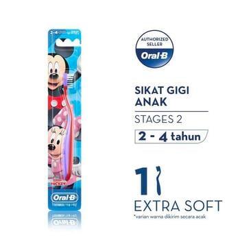 Oral-B Sikat Gigi Anak Stages 2 Mickey  harga terbaik 19400