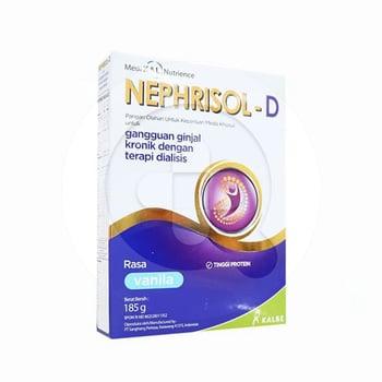 Nephrisol-D Susu Bubuk Rasa Vanilla 185 g harga terbaik 72661