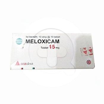Meloxicam OGB Dexa Medica Tablet 15 mg  harga terbaik