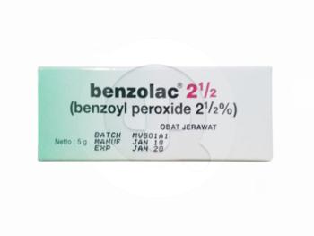 Benzolac Gel 2,5% 5 g harga terbaik 17669