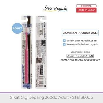 STB Higuchi 360do Brush Adult / Sikat Gigi Jepang - Pink harga terbaik 85000