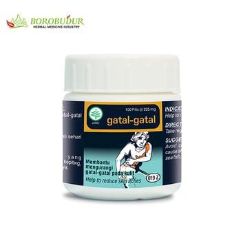 Borobudur Herbal Gatal-Gatal Botol Pil  harga terbaik 18000