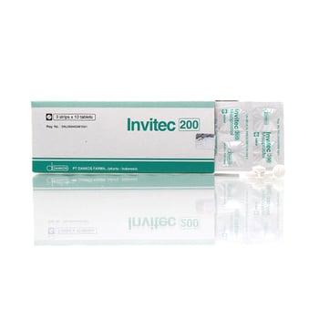 Invitec Tablet adalah obat untuk mengatasi luka dinding lambung dan usus.