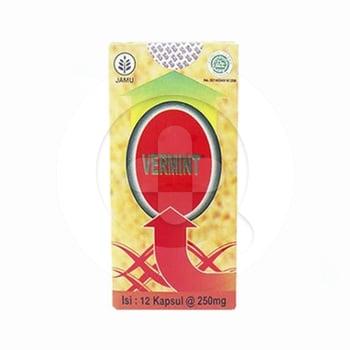 Vermint Kapsul Cacing 250 mg  harga terbaik 22018
