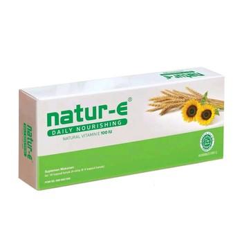 Natur-E Daily Nourishing 100 IU Kapsul  harga terbaik