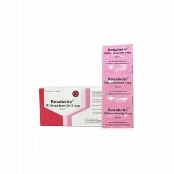 Renabetic tablet adalah obat untuk terapi tambahan pada pasien diabetes melitus tipe 2