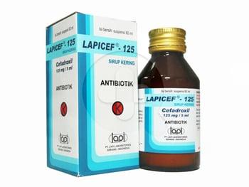 Lapicef Sirup 125 mg/5 mL - 60 mL harga terbaik 59092