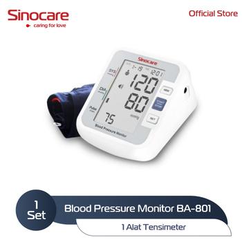 Sinocare Automatic Blood Pressure Monitor / Alat Tensimeter BPM BA-801 harga terbaik 164900