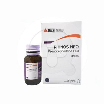 Rhinos Neo drop adalah obat untuk membantu meredakan gejala flu seperti hidung tersumbat