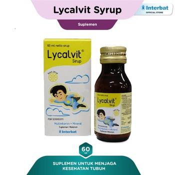 Lycalvit Sirup 60 mL harga terbaik 48801